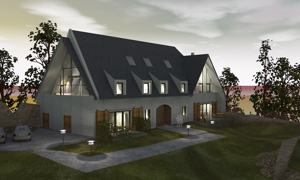 Schloss Döben Visualisierung